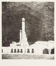 Berlage's design for Lenin's Mausoleum in Moscow