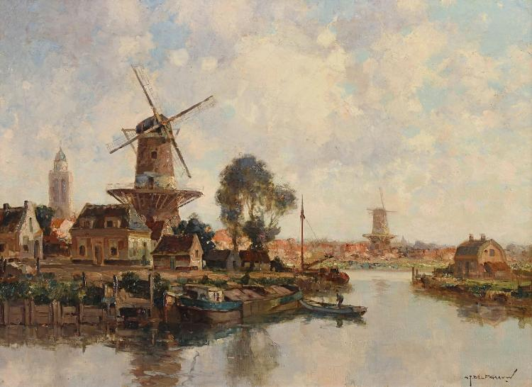 Zwolle as seen by Gerard Delfgaauw