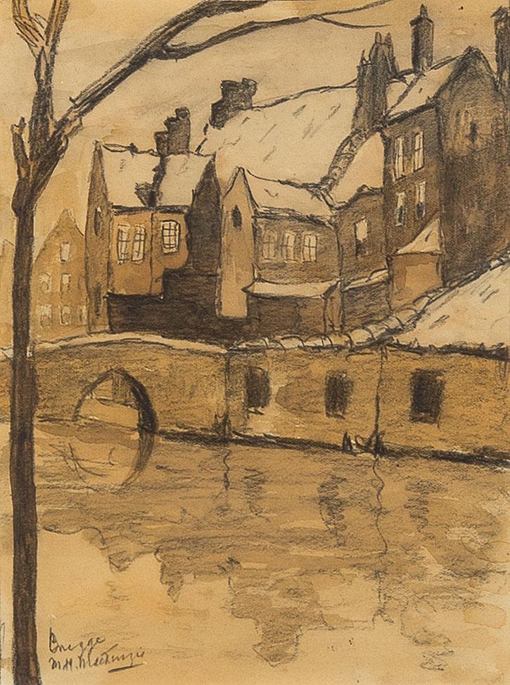Winter in Brugge by Marie Henry Mackenzie