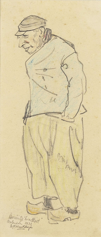 'Heilig Bruintje' from Volendam portrayed by Mackenzie
