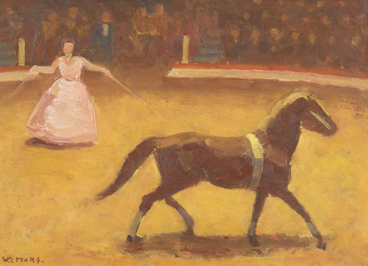'Freedom dressage', Kees Maks in his element