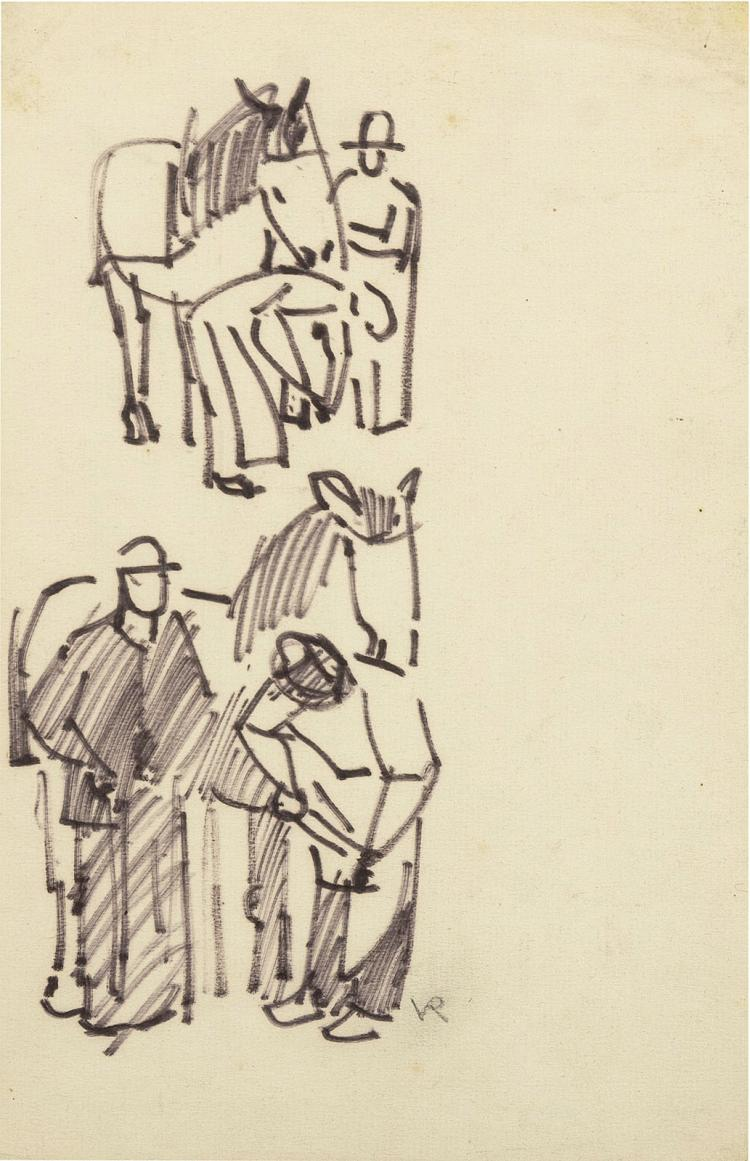 Nice little sketches by Otto van Rees