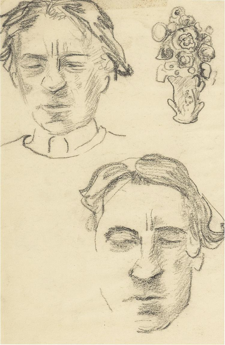 Three sketches by Otto van Rees