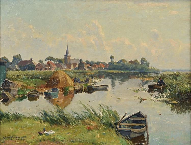 Earnewâld (Tytsjerksteradiel, Friesland) by G.F. van Schagen
