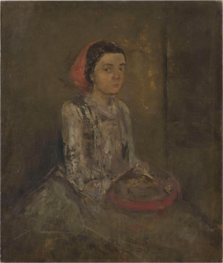 Unrecorded: the earliest self-portrait of Lizzy Ansingh