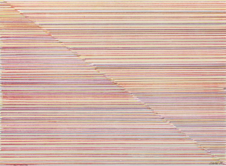 Troisième élément, lithograph by Jean-Michel Meurice