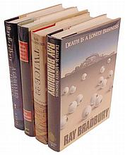 Bradbury, Ray. Collection of 4 Signed Works