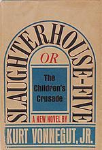 Vonnegut, Kurt Jr. [Signed] Slaughterhouse-Five;  or, the Children's Crusade:  A Duty-Dance with Death