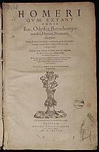 Homer.  Homeri Quae Extant Omnia Ilias, Odyssea....