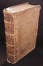 Plato.  [Title in Greek]  Platonis Omnia Opera Cum Commentariis...