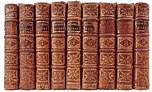 Shakespeare, William.  The Works of Shakespear in Nine Volumes with a Glossary