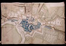 [Manuscript Plan, Fort Sedan, France, 1634]