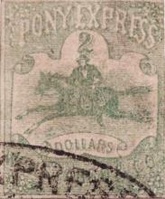 [Pony Express Stamps]
