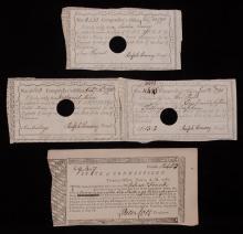 [Connecticut] Revolutionary War, Treasury Notes