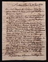 Manuscript Bulletin, John Paul Jones, 1780