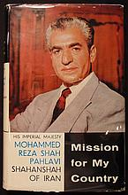 [Ardeshir Zahedi]  Pahlavi, Mohammed.  Mission for My Country.