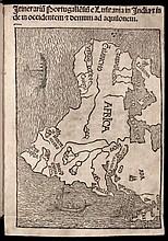 Montalboddo, Fracanzano. Itinerarium Portugallensium e Lusitania in Indiam et inde occidentem et denum ad aquilonem