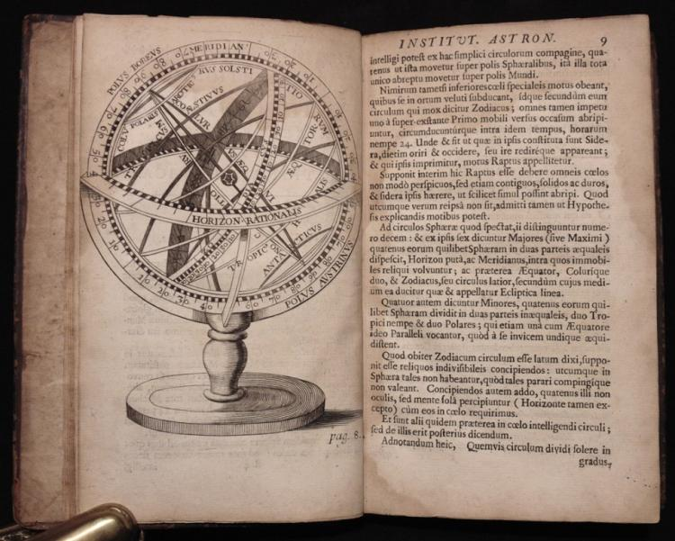 Gassendi; Galileo, Kepler.  Institutio Astronomica