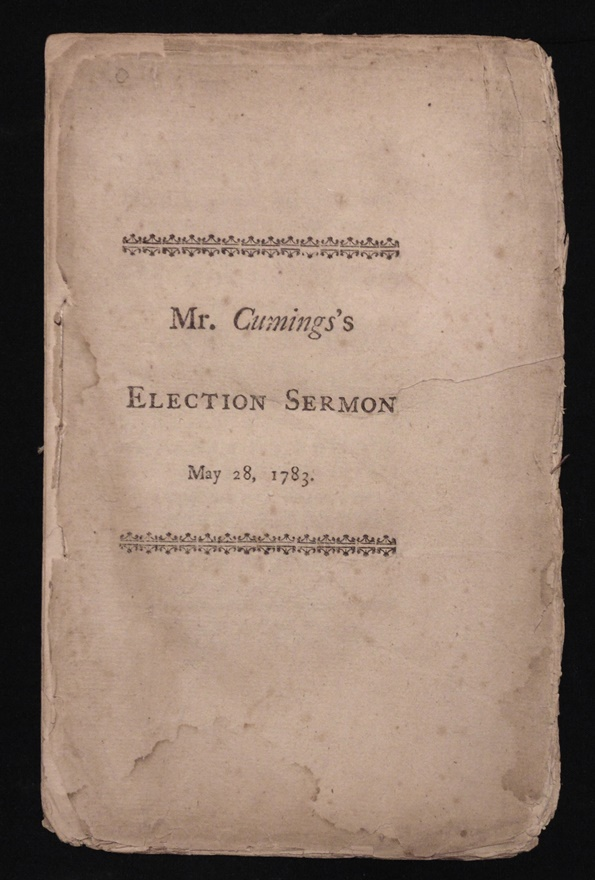 Cumings. [American Revolution, Early Am. Imprint]