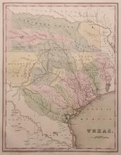 [Map of Texas, Bradford, 1838]
