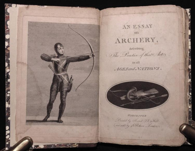 [Archery] Moseley's Essay on Archery