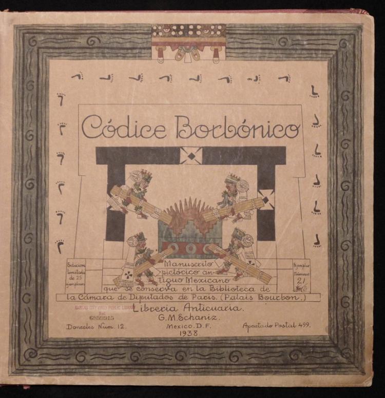 [Codex Borbonicus]  Codice Borbonico