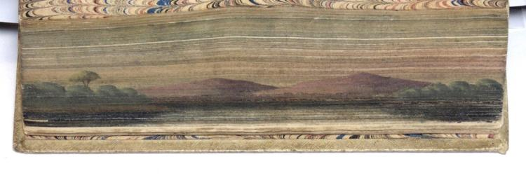 [Fore-Edge Painting] Virgil, trans. by Dryden