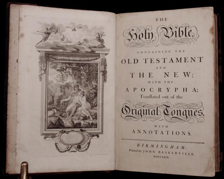 [Baskerville Bible, 1769]