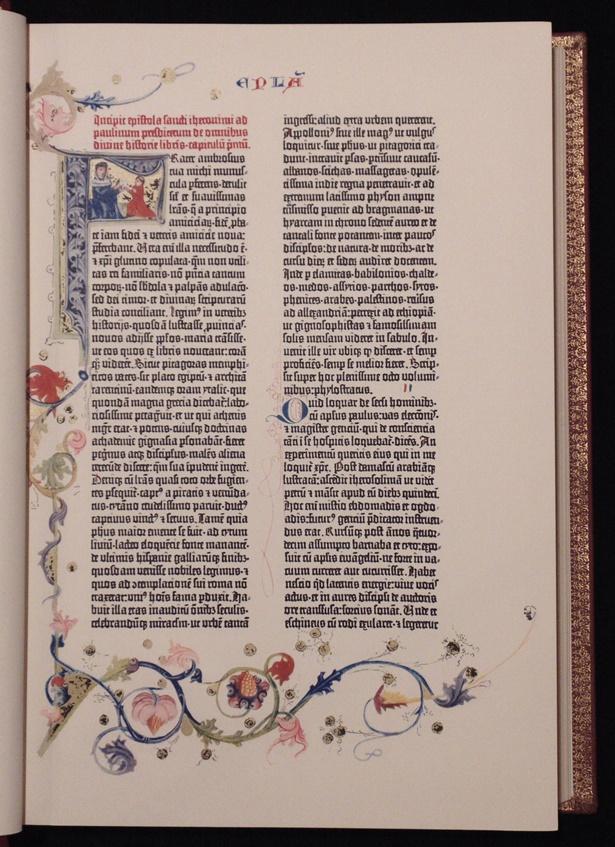 Gutenberg Bible, 1st Facsimile Ed.