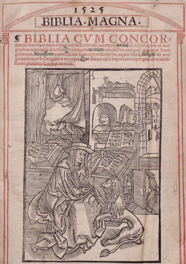 Biblia Magna, 1525