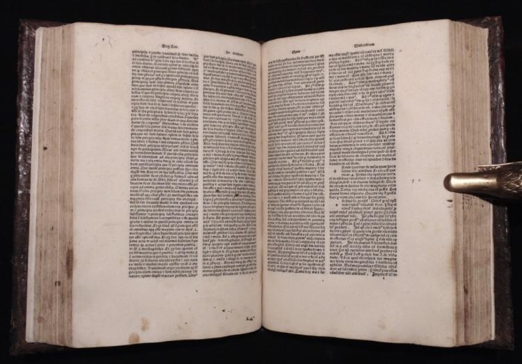[Incunabula]  Thomas Aquinas' Opuscula