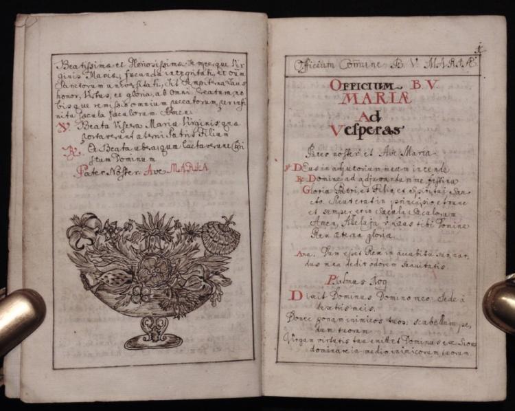 [Manuscript Breviarum Marianum]