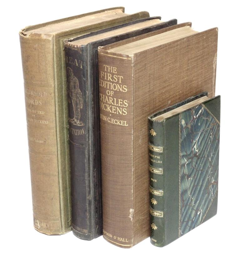 Dickens, Charles.  [Lot of 4]