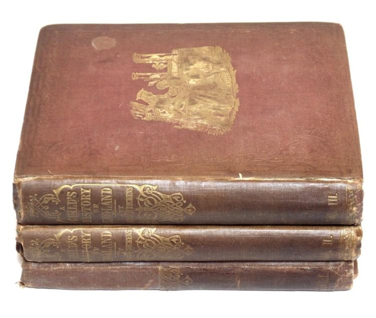 Dickens, Charles. Child's History of England