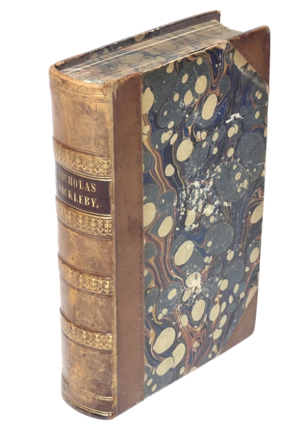 Dickens, Charles.  Nicholas Nickleby