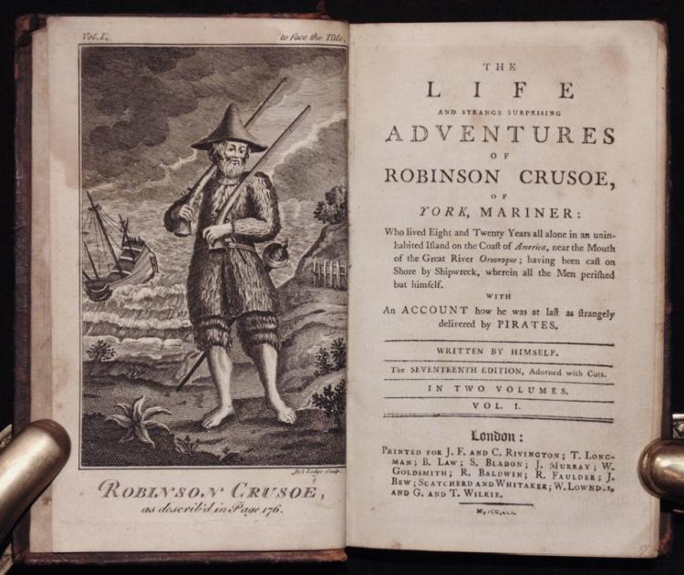 Defoe, Daniel.  Robinson Crusoe [1791]