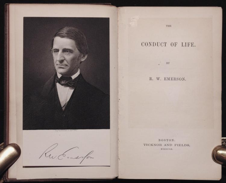 Emerson, Ralph Waldo. Conduct of Life