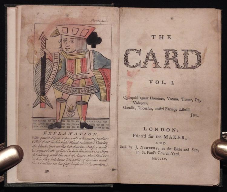 Kidgell, John.  The Card.  London, 1755