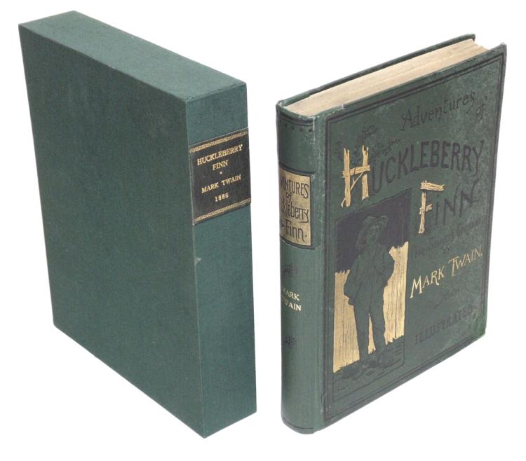 Mark Twain's Huckleberry Finn, 1st Ed.