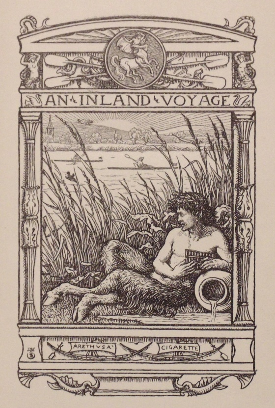 Robert Louis Stevenson's Inland Voyage, 1st ed.