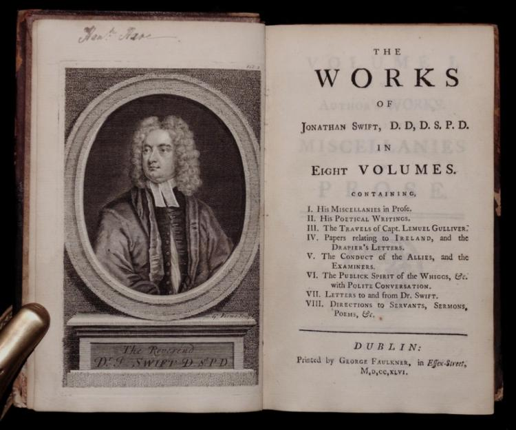 Swift, Jonathan. The Works
