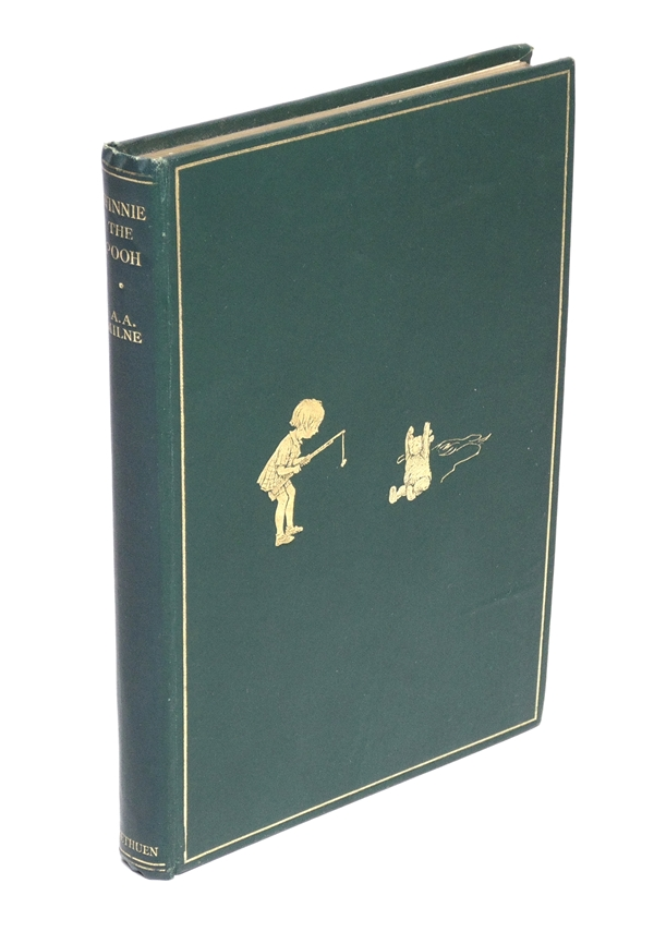 A. A. Milne. Winnie-The-Pooh, First Ed.