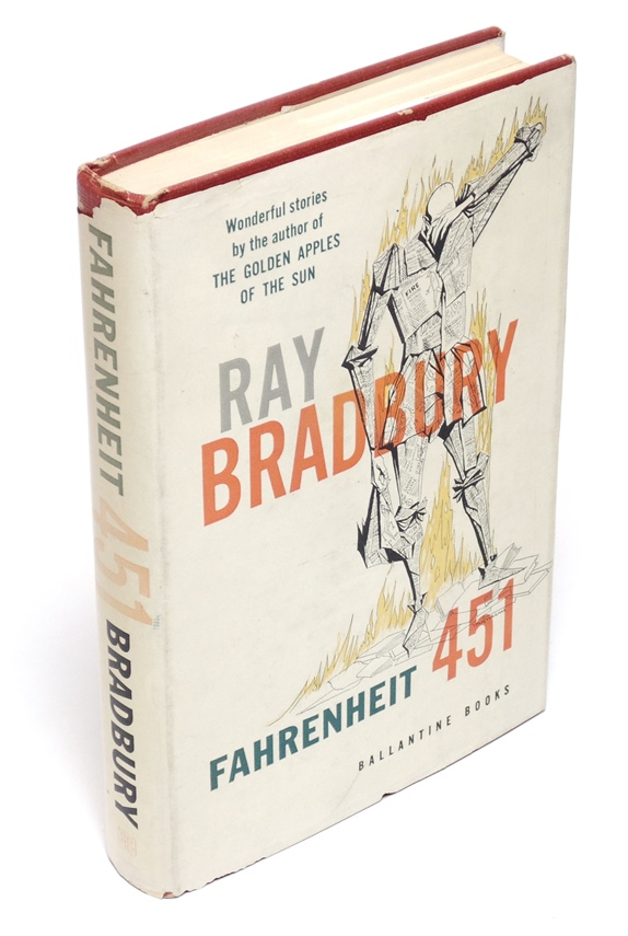 Bradbury, Ray.  Fahrenheit 451