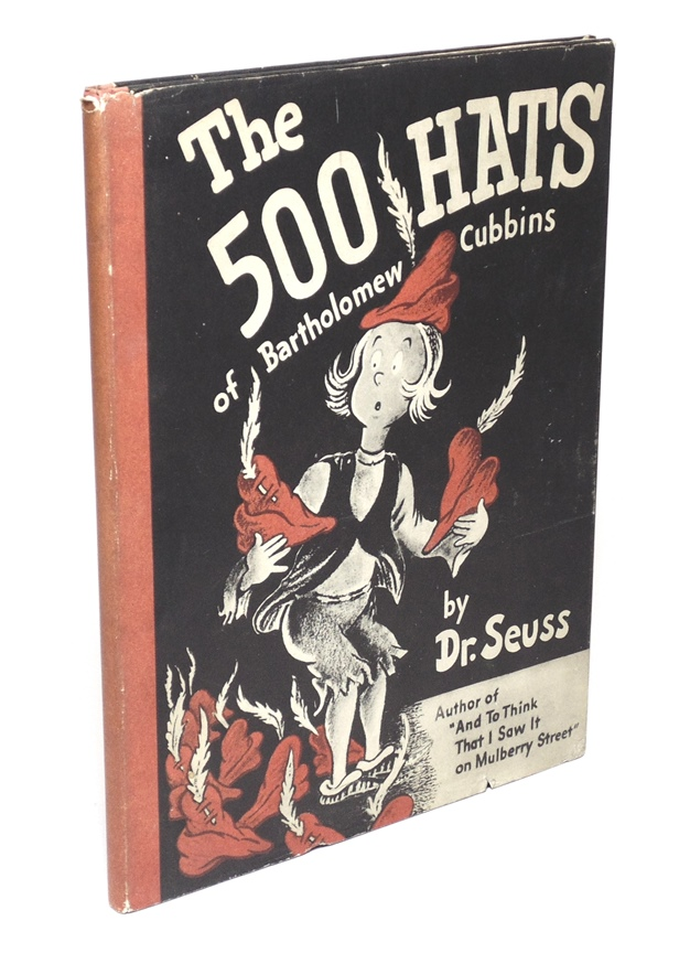 Dr. Seuss. The 500 Hats, 1st Ed.