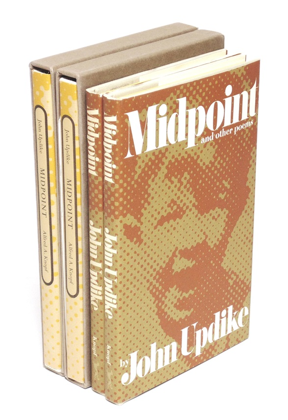 John Updike's Midpoint. [SIGNED, LIMITED]