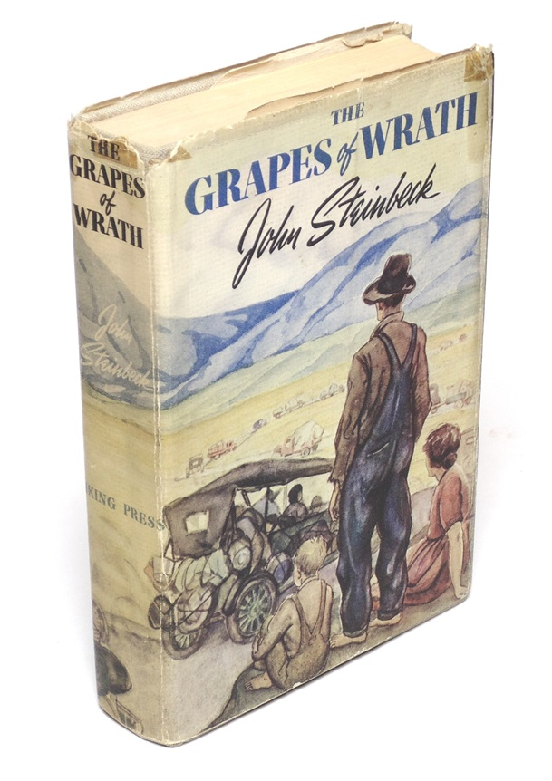 Steinbeck, John. The Grapes of Wrath