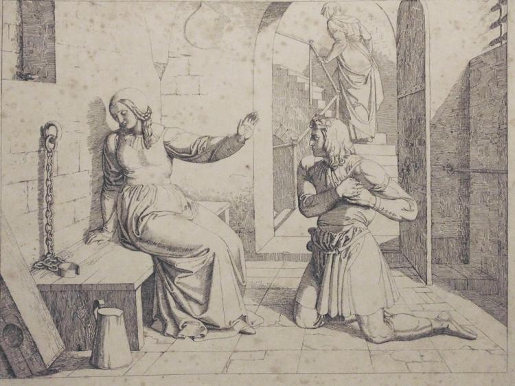 Fuhrich, Joseph von.  Tieck's Genovefa
