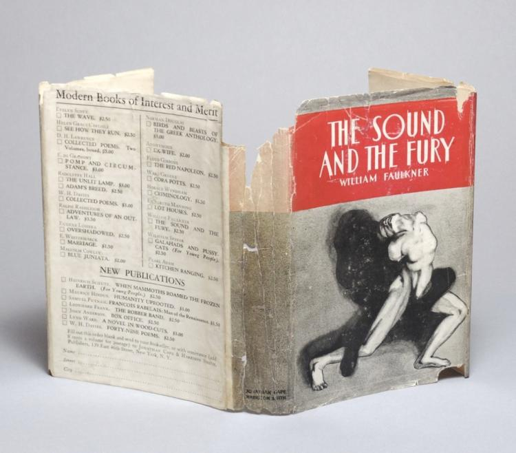 """an overview of the novel sound and the fury by william faulkner The fury, there is no shortage of literary and linguistic analyses of this novel which example from halliday's analysis of the inheritors by william golding and book lists i said to myself, now i can write"""" (faulkner, """"an introduction for the sound and the fury"""" 710) although the sound and the fury received better."""