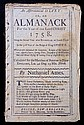 Ames, Nathaniel.  An Astronomical Diary:  Or, An Almanack for...1758