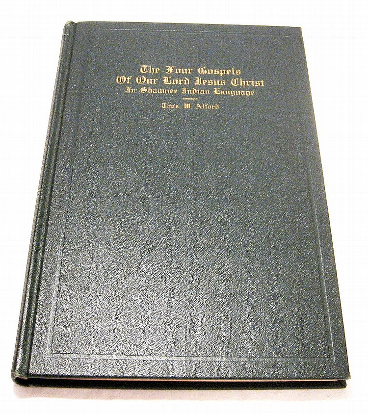 The Gospel of Matthew translated into Shawnee. 1929.